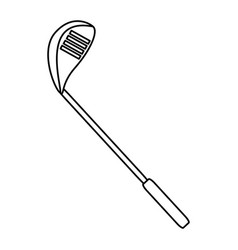 Golf club equipment vector