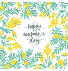 Happy women s day festive wish against figure vector
