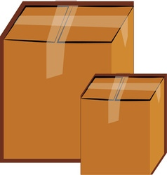 Moving Boxes vector