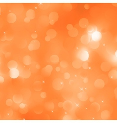 Orange defocused lights background EPS 8 vector
