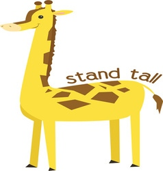 Stand Tall vector