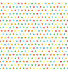 Star pattern multicolor seamless background vector