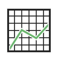 Trend Chart vector image