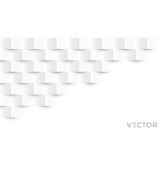 white geometric texture pattern background vector image