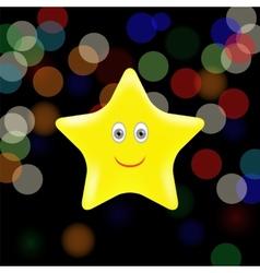 Yellow Star vector
