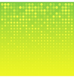 Abstract Bright Yellow Background for your design vector image