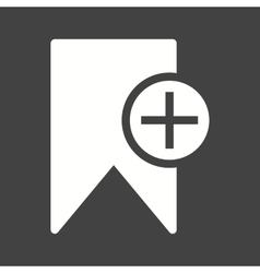 Add Bookmark vector image vector image