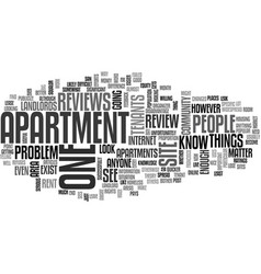 Apartment locators text word cloud concept vector