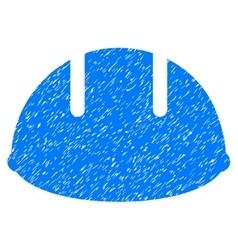 Builder Helmet Grainy Texture Icon vector