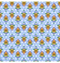 Colorful ornate seamless pattern vector