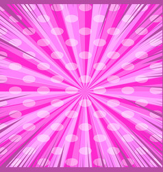 Comic page pink background vector