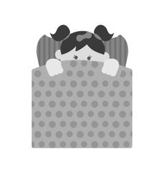 Lying in Bed vector