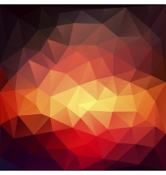 Magic triangle background with highlights vector