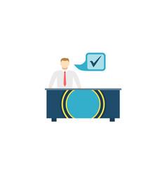 otc trading flat icon vector image