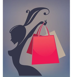 best sale and shopping vector image vector image