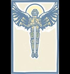 Michael Archangel Color vector image vector image