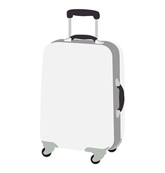 Luggage wheeled vector image