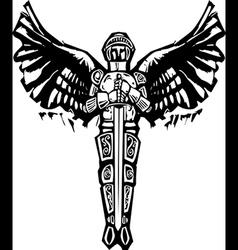 Michael Archangel vector image vector image