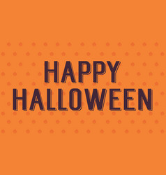 background of halloween style design vector image vector image