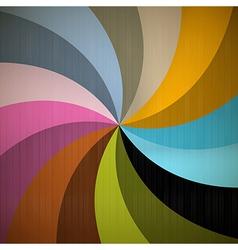 Retro Spiral Background vector image vector image