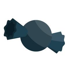 black bonbon icon isometric style vector image