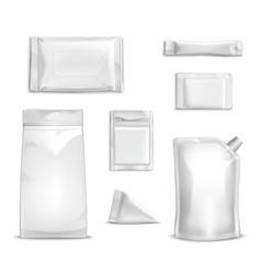 Blank Packaging Set vector image