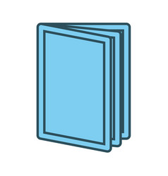 Book open symbol graphic vector