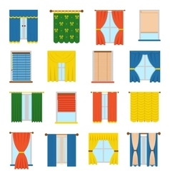 Collection blinds vector