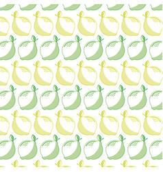 Delicious lemon fruit background stock vector