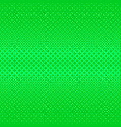 green geometrical halftone square pattern vector image