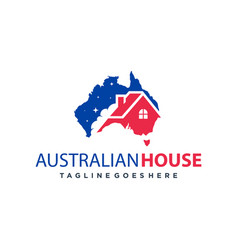 home logo design in australia vector image