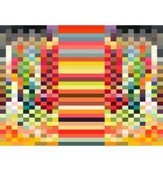 Rectangle rainbow pixel background vector