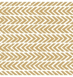 Seamless hand-drawn pattern in gold Abstract vector image