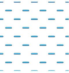 Sky blue rectangular button pattern vector