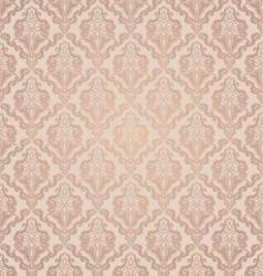 decorative seamless floral beauty vintage ornament vector image