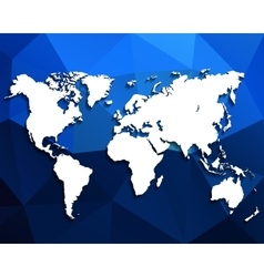 Map of the world vector image