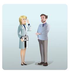 cartoon medical treatment concept vector image vector image
