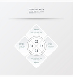 rectangle presentation white color vector image