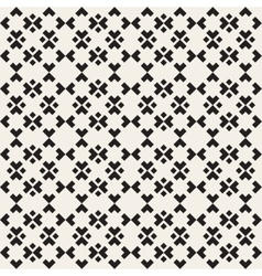 Seamless black and white simple ethnic vector