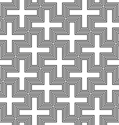 hinduism swastika ornament pattern vector image vector image