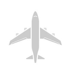 airplane glyph color icon vector image