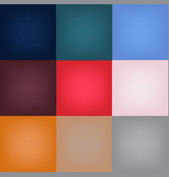 colors of 2018 vector image