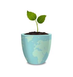 Ecology concept earth day world environmen day vector
