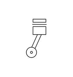 engine forcer icon vector image