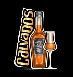 Logo for calvados vector