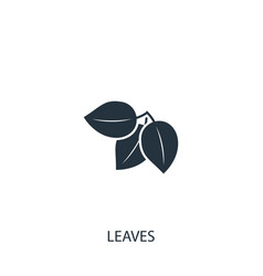 Plant icon simple gardening element symbol vector