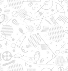 Football championship abstract seamless background vector image vector image