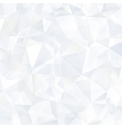 Triangle ice blue abstract background vector image