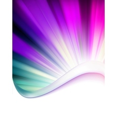 Abstract burst card vector image