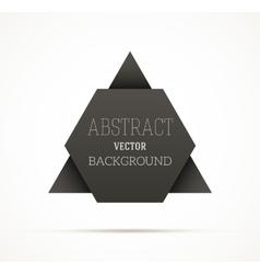 Black Shape vector image